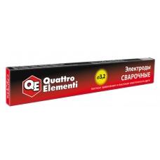 Электроды сварочные рутиловые QUATTRO ELEMENTI, 3,2 мм, масса 0,9 кг 770-438