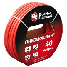 Шланг пневматический Quattro Elementi 40 метров, разъем EURO 645-556