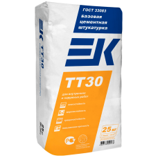 Цементная штукатурка ЕК TT30