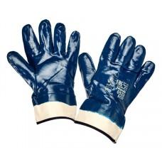 Нитриловые перчатки мантжет крага